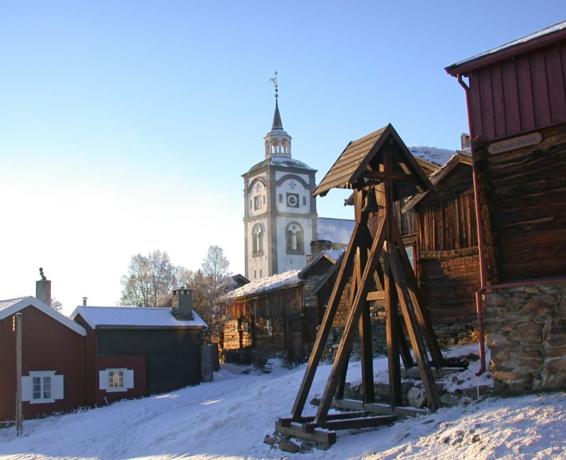 The bell and church tower in Røros. Photo: Einar Aasen, 2002